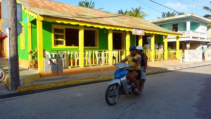 Isla Mujeres, former 4 backpackers shelter